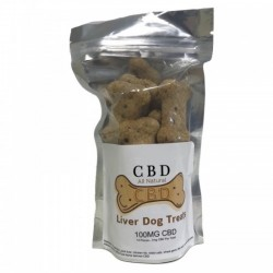 CBD Liver Dog Treats 100mg CBD